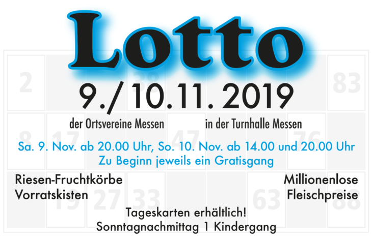 Lotto in Messen 2019